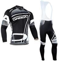 2017 Pro Team ORBEA Cycling Clothing Winter Thermal Fleece Winter Mem Cycling Jerseys MTB Bike Ropa