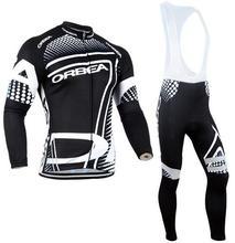 2017 Pro Team Ropa Ciclismo ORBEA invierno thermal fleece Invierno Mem camisetas de Ciclismo MTB bike Ciclismo ropa de Ciclo de Ropa Deportiva