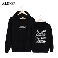 ALIPOP KPOP Coreano Moda IKON BOBBY VINCITORE MOBB Album Concerto Con Cappuccio In Cotone Con Cappello Vestiti Pullover Felpa PT248