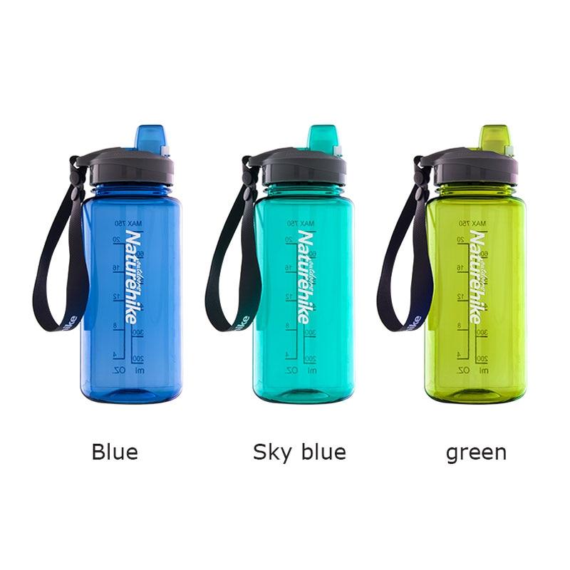 1.5L Sports Water Bottle BPA Free Plastic Fitness Riding Hiking Water Bottle