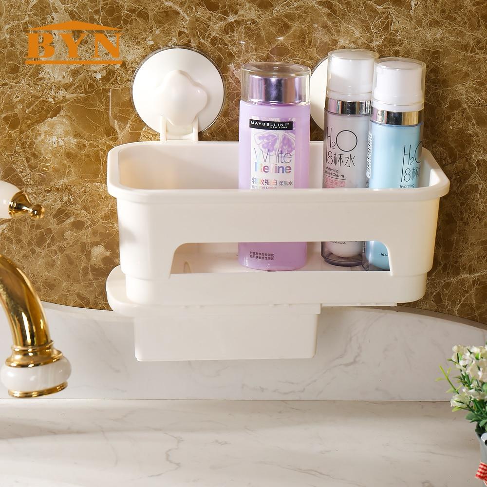 Byn Kamar Mandi Dinding Suction Cup Caddy Shower Sampo Penyimpanan Rak Gantungan Toilet Handuk Shampoo Odol Sabun Pasta Gigi Dq1604 4 Di Pemegang Dari
