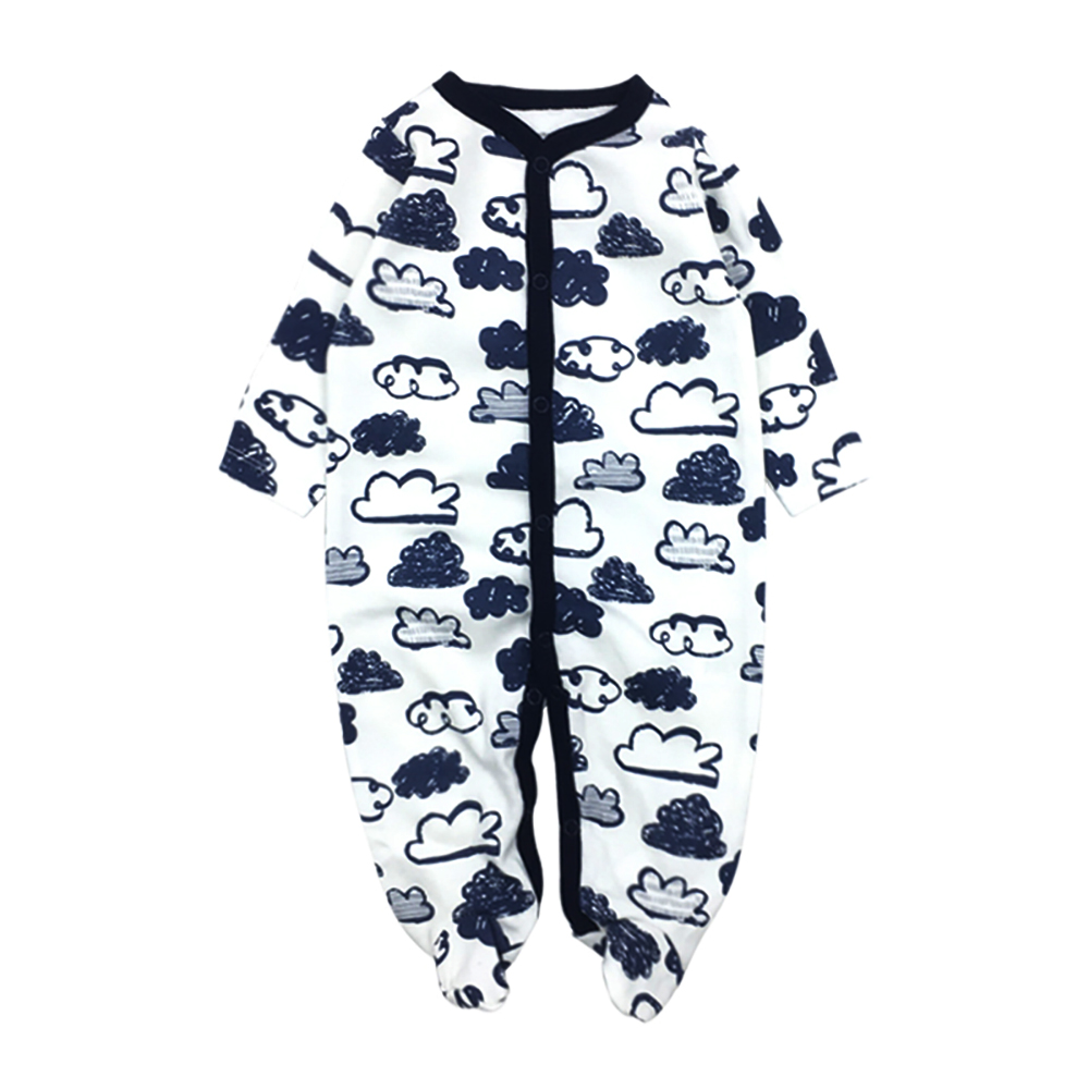 Newborns Baby girl Baby clothes Carters New born Babies Cotton100% Cartoon printing Infant clothes 1pcs/set 0-12 months ...