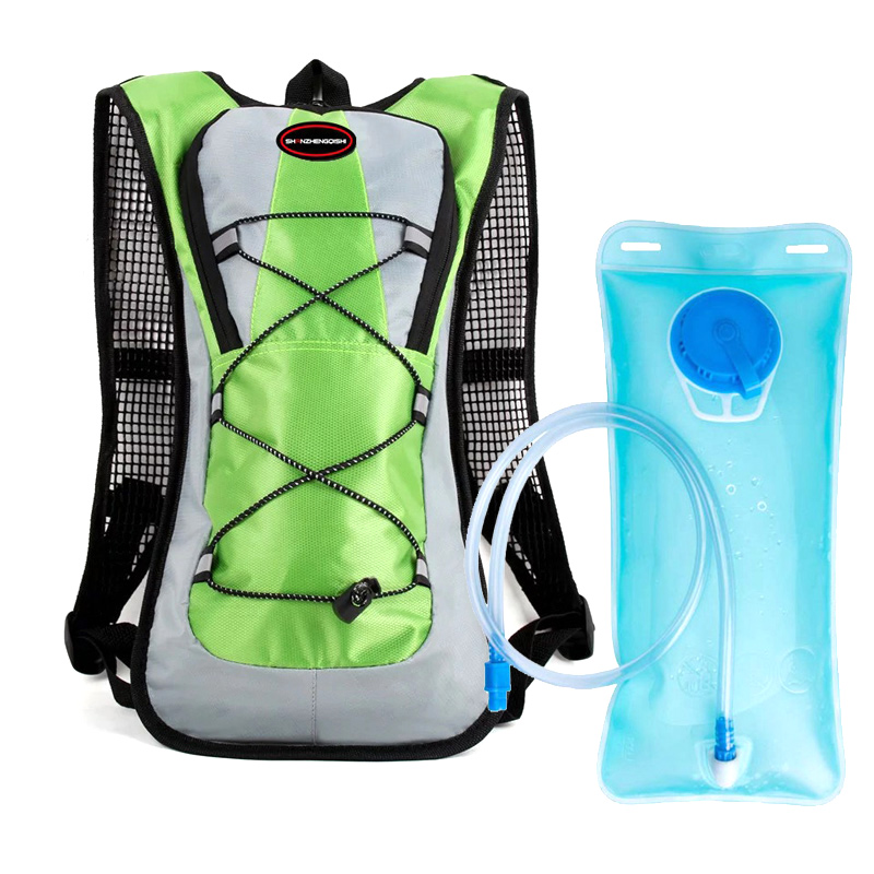 b4b221070243 Спортивные гидратации пакет рюкзак для Пеший Туризм Бег Велоспорт с 2-литра  воды мочевого пузыря