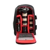 Multi functional Waterproof Camera Backpack Laptop Video Case DSLR Camera Bag for Nikon Canon Sony Digital Camera 1