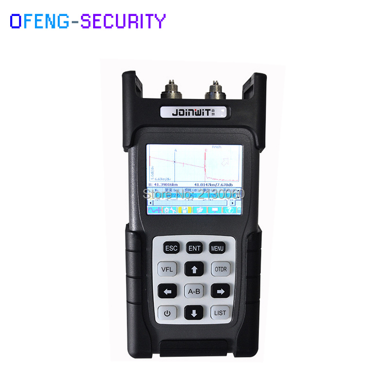 Optical Time Domain Reflectometer JW3302B Handheld OTDR English Version Tester 1310/1550nm 30/28dB SM Integrated VFL 5MW