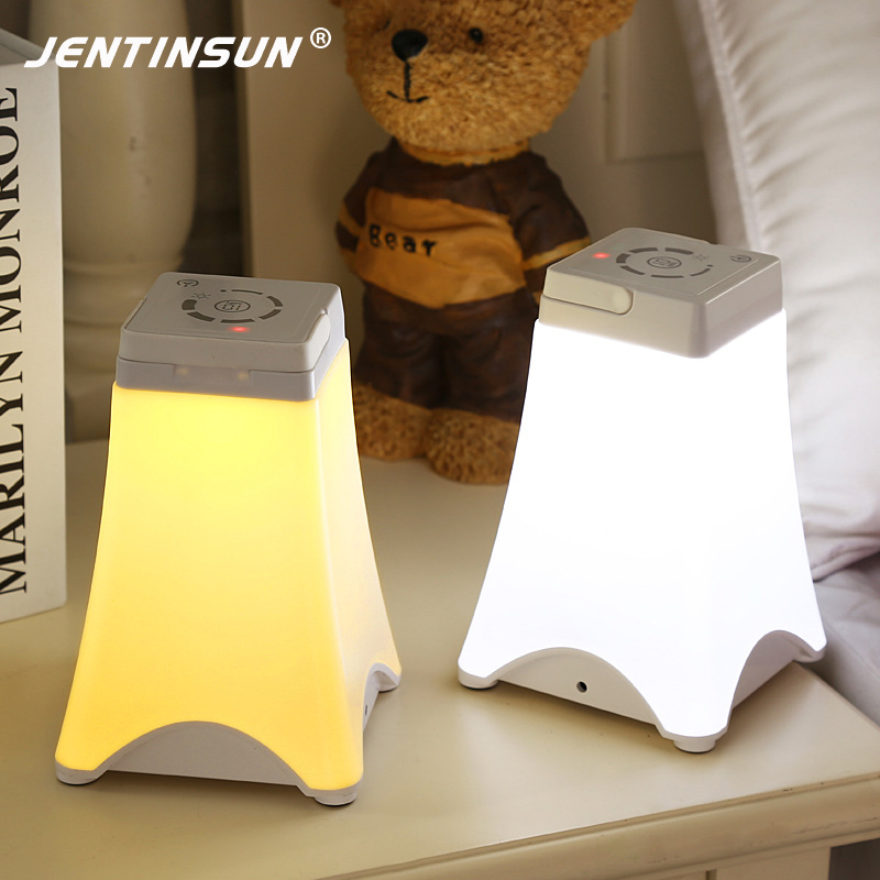 Bedroom Night Lights Hot Energy Saving LED Table Lamp Creative Portable USB Touch Sensor Dimming Emergency Colorful Tower Lights brightinwd led e27 energy saving rechargeable intelligent light bulb lamp emergency lights