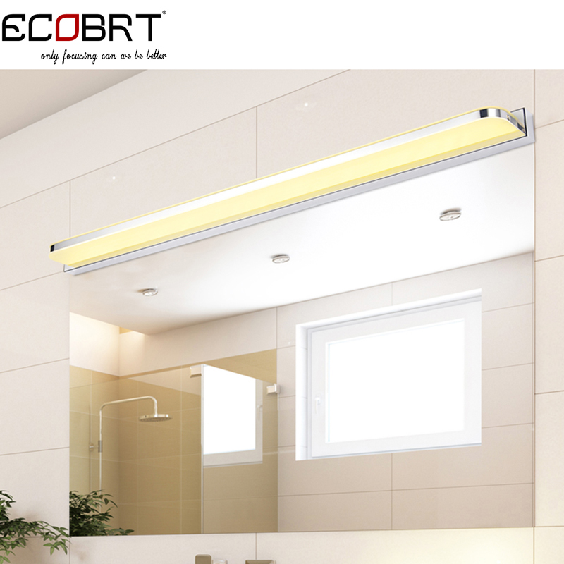 24W 110cm Super Long LED Bar Light in Bathroom as Wall Mounted Mirror Lighting Fixtures 100-240V AC the ivory white european super suction wall mounted gate unique smoke door