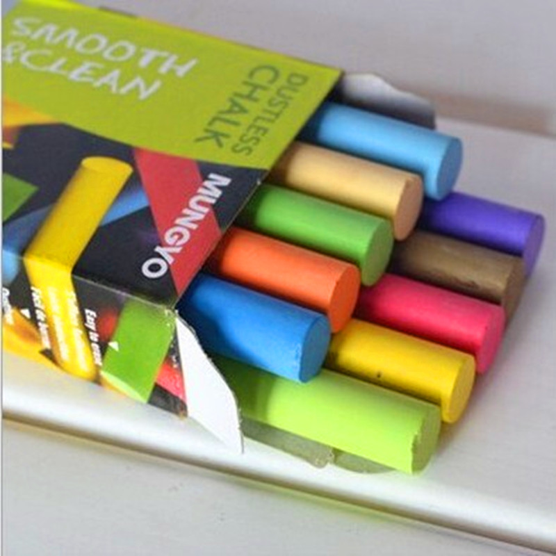 10 pcs/Lot new safe dustless chalk pen Drawing chalks for ki