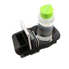 Zlord салона держатель стакана воды Панель авто телефон карты ящик для хранения Органайзер для Mercedes Benz C/E класса W205 W213 GLC Запчасти