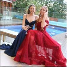 2017 Sexy 2 Stücke Abendkleid Abendkleider Meerjungfrau Zwei stück Neue Ankunft Preiswerte Lange Abschlussball-kleider Party Kleid Abend kleid