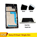 For sony xperia z3 lcd screen tested D6603 D6653 L55T touchscreen Lcd with frame