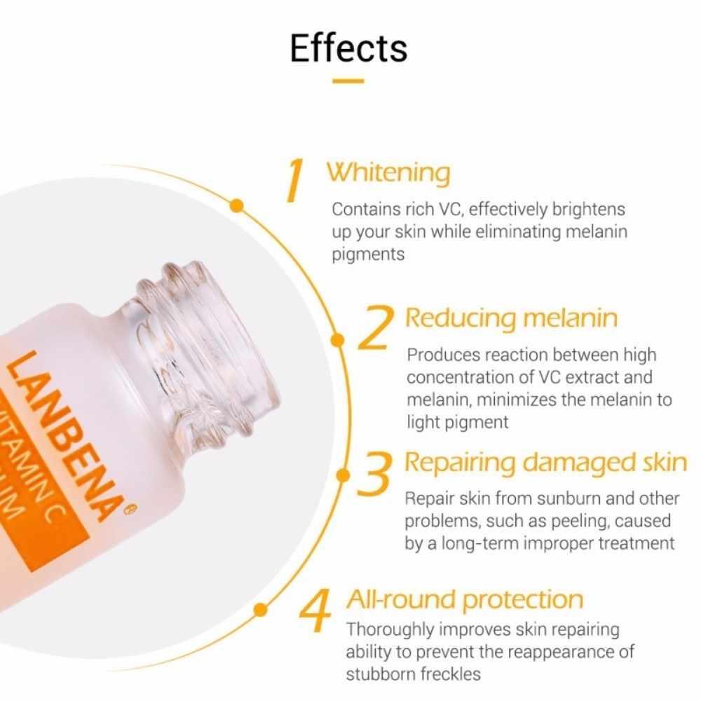 Suero blanqueador de ácido hialurónico de vitamina C, antiedad, mancha de desvanecimiento, hidratante, antiarrugas, reafirmante, esencia para el rostro, suero TSLM1