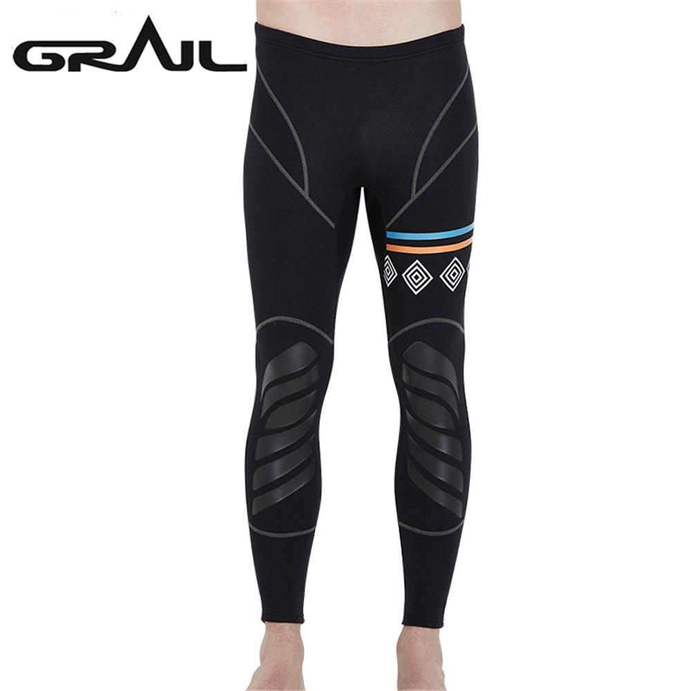 3MM Rash Guards Men Diving Wet Suit Pants Geometry Diving Trousers Tight Diving Suit Men Scuba Swimwear Dive Equipment LP-18053