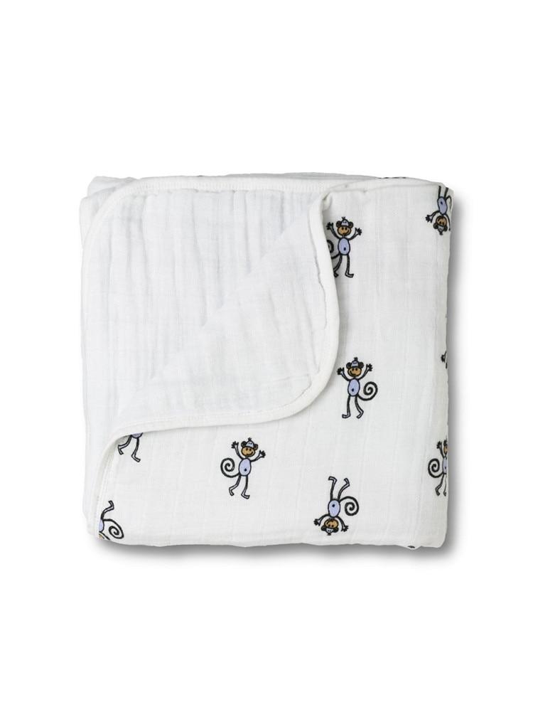 adamant ant Jesień noworodka materiały aden anais gaza dziecięca trzyma koce pogrubienie 100% Muślin bawełna 2 warstwy z etykietą