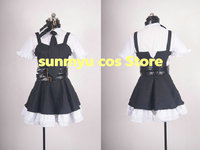 Free Shipping!DEATH NOTE Misa Amane Cosplay Costume,Size customizable Halloween Wholesale