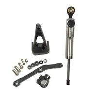 MT09 FZ09 Steering Damper Mounting Bracket Kit For Yamaha MT 09 FZ 09 2013 2014 2015