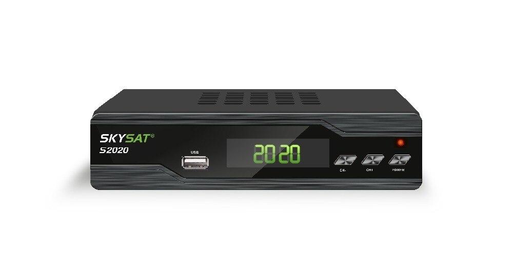 SKYSAT S2020 Twin Tuner Ricevitore Satellitare IKS SKS ACM M3U H.265 più stabile server IPTV Full HD Canali s1008