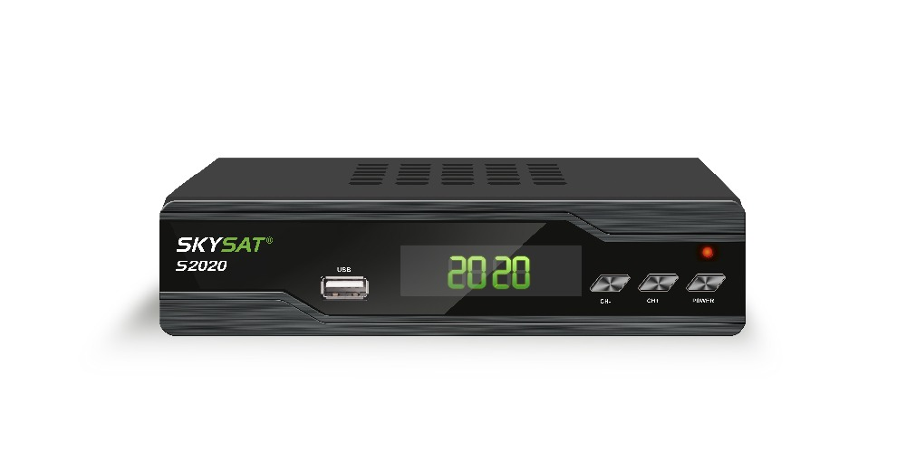купить SKYSAT S2020 Twin Tuner Satellite Receiver IKS SKS ACM IPTV M3U H.265 most stable server Full HD Channels s1008 по цене 4691.83 рублей