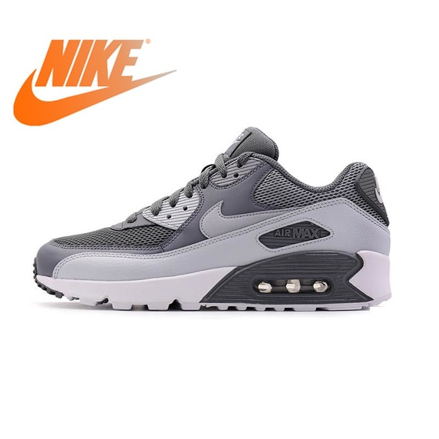 59e2127bec3 Original Authentic NIKE Men s AIR MAX 90 ESSENTIAL Breathable Running Shoes  Sneakers Sport Outdoor Comfortable 537384-073
