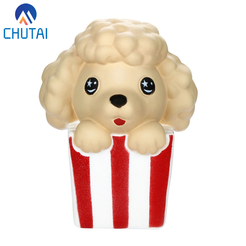Cartoon Animal Cute Christmas Poodle Funny Children Squishy Toys Slow Rising Fruits Scented Squishies Stress Relief Toy 11*8CM