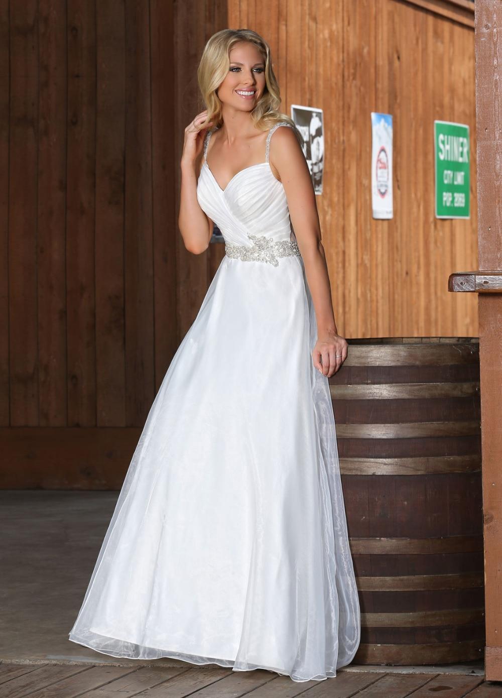 Cheap Wedding Dresses 75 wedding dresses cheap Deep V Neck Long Sleeves Lace Tulle A Line Wedding Dress affordable Wedding