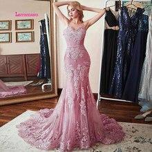 LEIYINXIANG 2019 Luxury Prom Dress Nuevo Mermaid