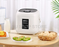 2L mini rice cooker small Steamer Multifunction cooking Pot Electric insulation heating cooker 1 2 people