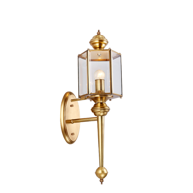 Hot sale vintage copper wall lights luxury garden light indoor hot sale vintage copper wall lights luxury garden light indoor outdoor lighting waterproof retro wall lamp aloadofball Image collections
