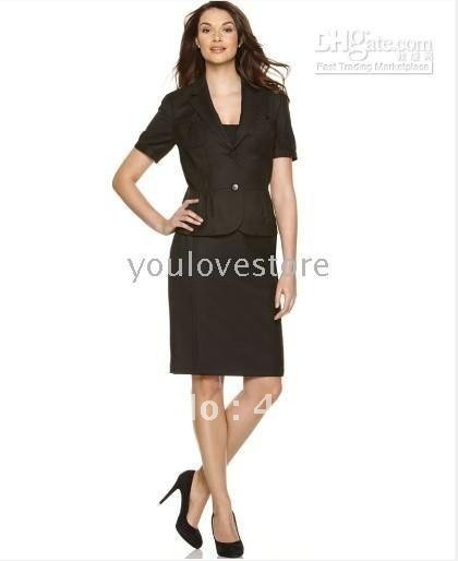 Are black pencil skirt suit are absolutely