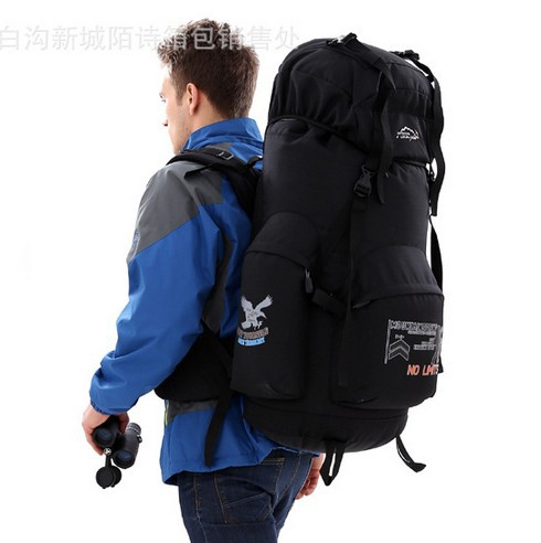 ФОТО professional Large capacity 70L bracket with mountaineering bags outdoor Waterproof Travel camping backpack  Multifunctional bag