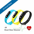 C6 Bluetooth 4.0 Smart Bracelet smart band Heart Rate Monitor Wristband Fitness Tracker for Android iOS Smartphone