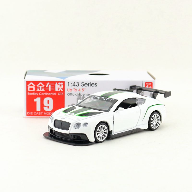 1:43 Scale/Diecast Toy Model/Bentley Continental GT3