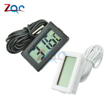 TPM-10 Digital LCD Thermometer Hygrometer Temperature Sensor Meter Weather Station Diagnostic-tool Thermal Regulator 2m(China)