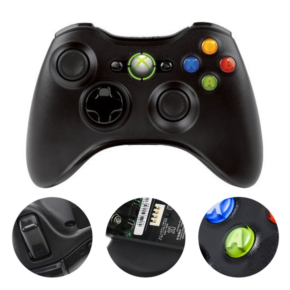 все цены на Wireless Controller For Microsoft Xbox 360 Gamepad Built-in Dual Motors Game Controller For XBOX 360 Wireless Joystick онлайн