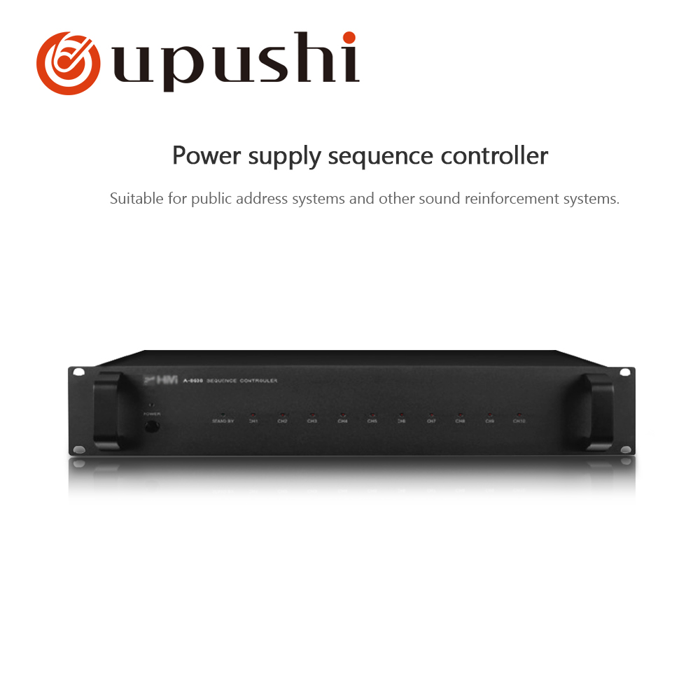OUPUSHI A 8608 Power Sequencer Control the power supply of other host devices for pa system