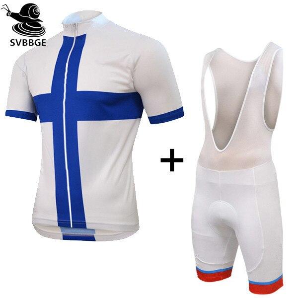 Finlandia Hombres ropa ciclismo manga corta Bicicleta Jerseys de La Bicicleta Ropa de Ciclo de La Bicicleta Ropa de Ciclismo ropa para el Verano
