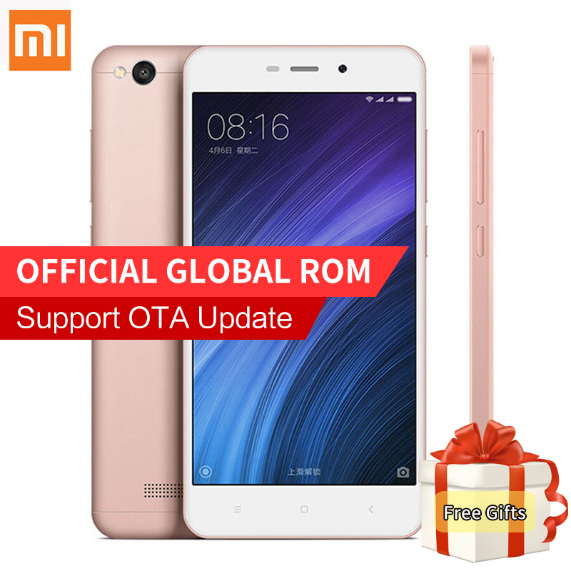 Original xiaomi redmi 4a mobile phone snapdragon 425 quad core 2gb ram 16gb rom 13 0mp