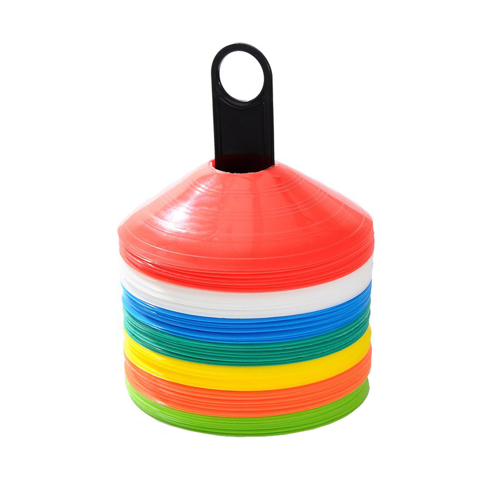 5PCS Disc Cone Saucer Football Cross Training Sports Space Marker Landmark Obstacles Markers Speed Training
