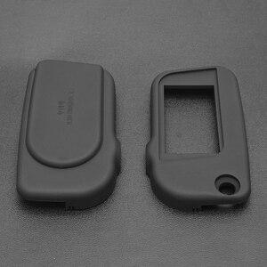Image 4 - Neue Version A93 Abdeckung Fall Keychain mit Schlüssel Klinge mit Glas für Starline A93 LCD Zwei Weg Fernbedienung Schutzhülle shell