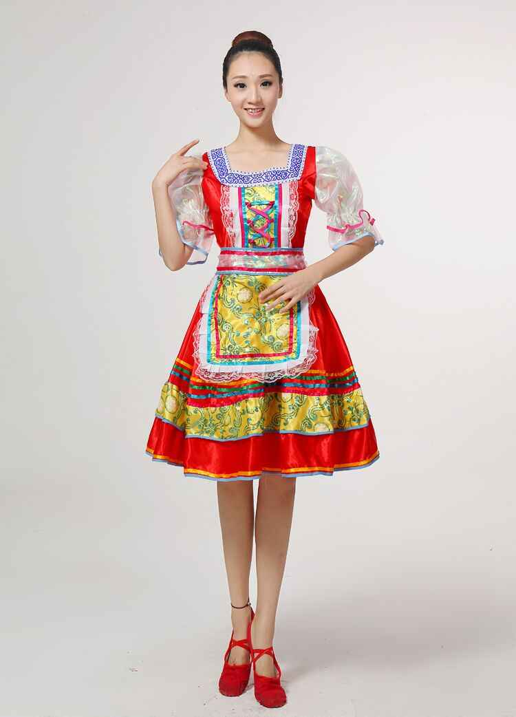 322eded3941 ... Classical traditional russian dance costume dress European princess stage  dresses Stage performance clothing 113001 ...