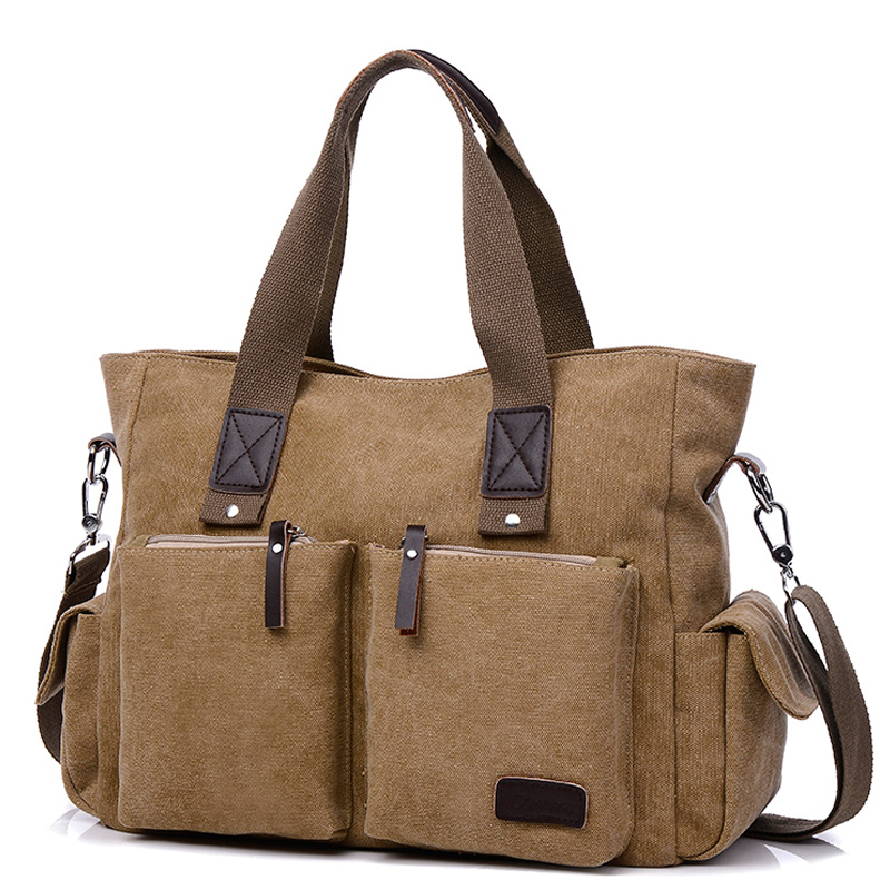 vintage fashion unisex canvas messenger bag book laptop school shoulder bags ladies women crossbody bags handbag men travel bag 2018 Casual Men handbag Man canvas Bags Business Computer Laptop Tote Bag Men's Crossbody Shoulder Bag women Travel Bags Unisex