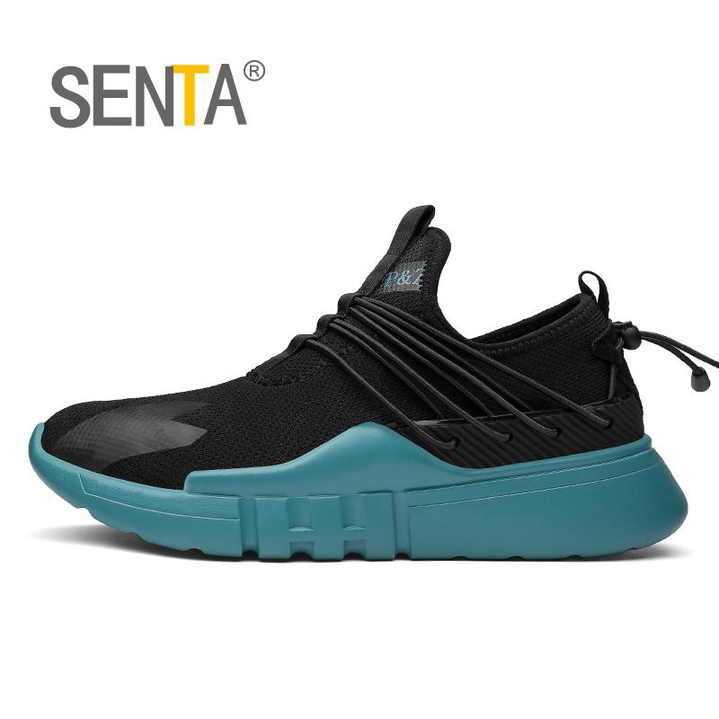 SENTA New Most Popular Style Men Running Shoes Outdoor Walking Sneakers Comfortable Athletic Shoes Men For Sport Free Shipping ...