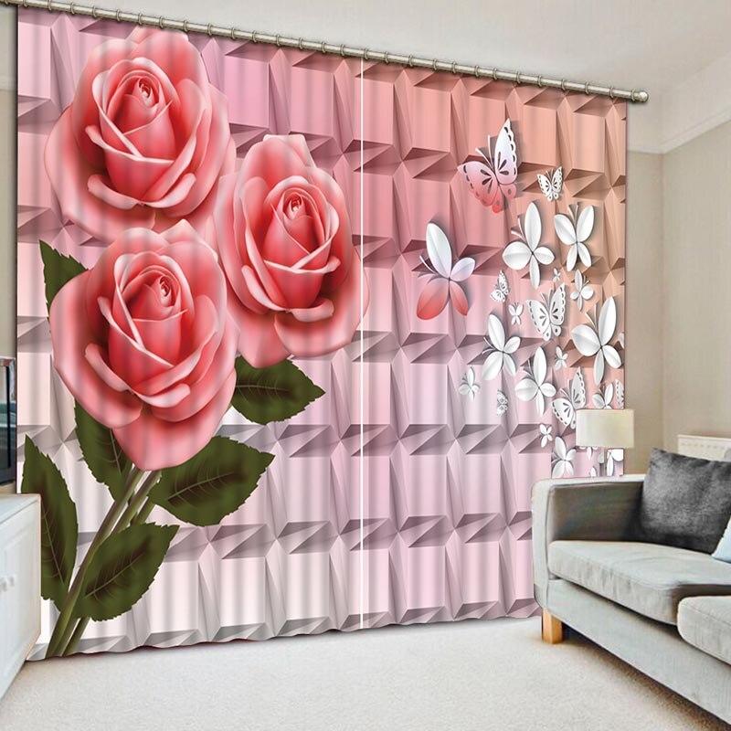 3D Blackout Curtains High Quality HD Lifelike Window Curtains ...