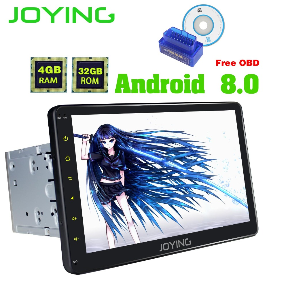 10.1 Joying 4 gb + 32 gb Android Voiture Radio Stéréo Universel Autoradio Magnétophone Pour ford passat siège Kia GPS Navigation Lecteur