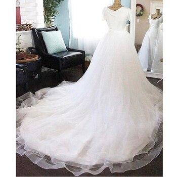 a71988d6b6 Hermosa falda de tul exuberante para novia muy larga media falda de tul  mujer inferior 2018 Saias por encargo