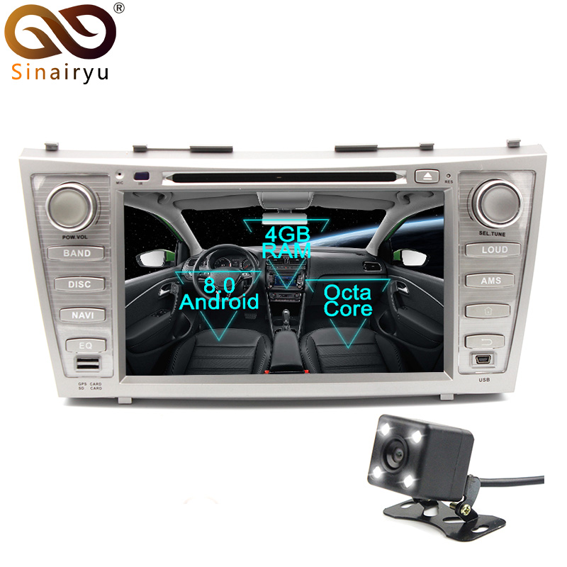 Sinairyu Android 8 0 8 Core 4G RAM Car DVD font b GPS b font For