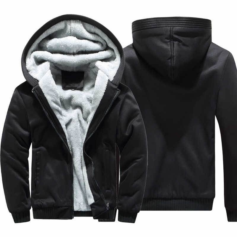 d34632ba9 Detail Feedback Questions about Hoodies Men Hooded Casual Wool ...