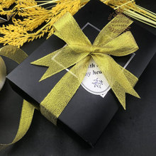 MiHuaGe Nylon Packing Paper Ribbon Gold Silver Wedding Festival Decoration Gift Box Strip 1cm Width