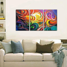 Modern abstract  Oil Painting On Canvas fourtune treehandpainted Free shipping by hongkong airmail post