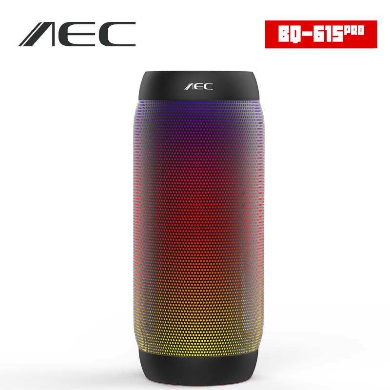 ФОТО HOT AEC colorful Water Resistant Bluetooth Speaker Wireless NFC Super Bass Subwoofer Outdoor Sport Sound Box FM Portable Speaker